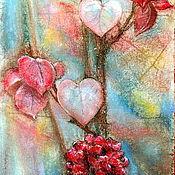 """Картины и панно ручной работы. Ярмарка Мастеров - ручная работа Картина пастелью """"Танго вдвоем"""". Handmade."""