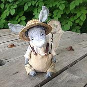 Куклы и игрушки ручной работы. Ярмарка Мастеров - ручная работа Ослик. Handmade.