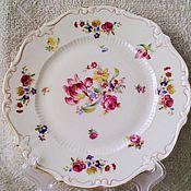 Винтаж handmade. Livemaster - original item 50s. plate. Reichenbach.  germany.. Handmade.