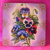 """Для дома и интерьера ручной работы. Ярмарка Мастеров - ручная работа """"Цветы"""". Handmade."""