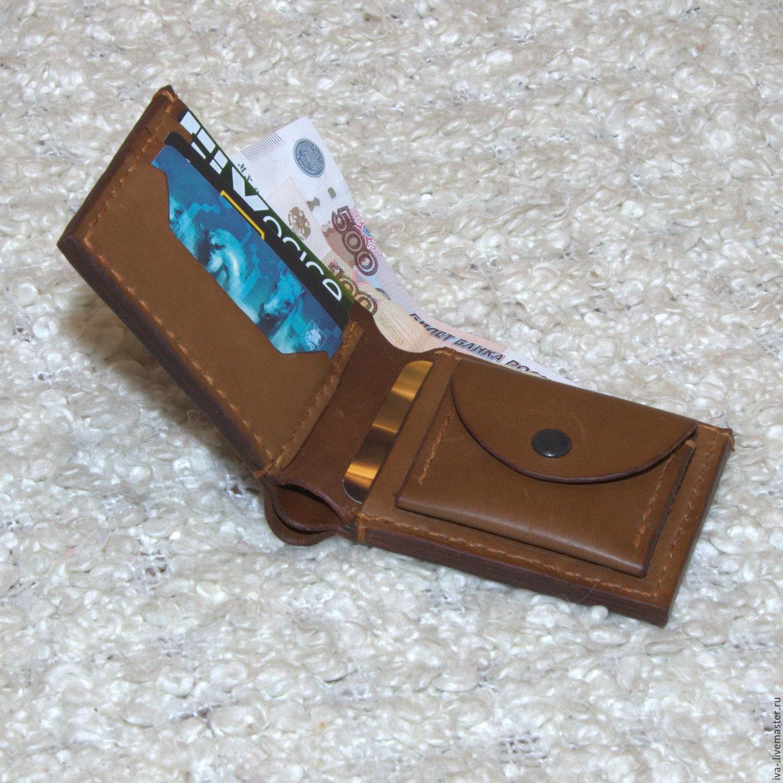 23fd048c10f8 Ярмарка Мастеров - ручная работа. Купить Кожаный кошелек (ручной работы) ...