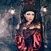 """Одежда ручной работы. Ярмарка Мастеров - ручная работа Платье """"Невеста Дракулы"""" готика. Handmade."""