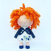Куклы и игрушки ручной работы. Ярмарка Мастеров - ручная работа Интерьерная кукла Огонек (17см). Handmade.