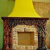 Для дома и интерьера handmade. Livemaster - original item Ceramic stucco fireplace
