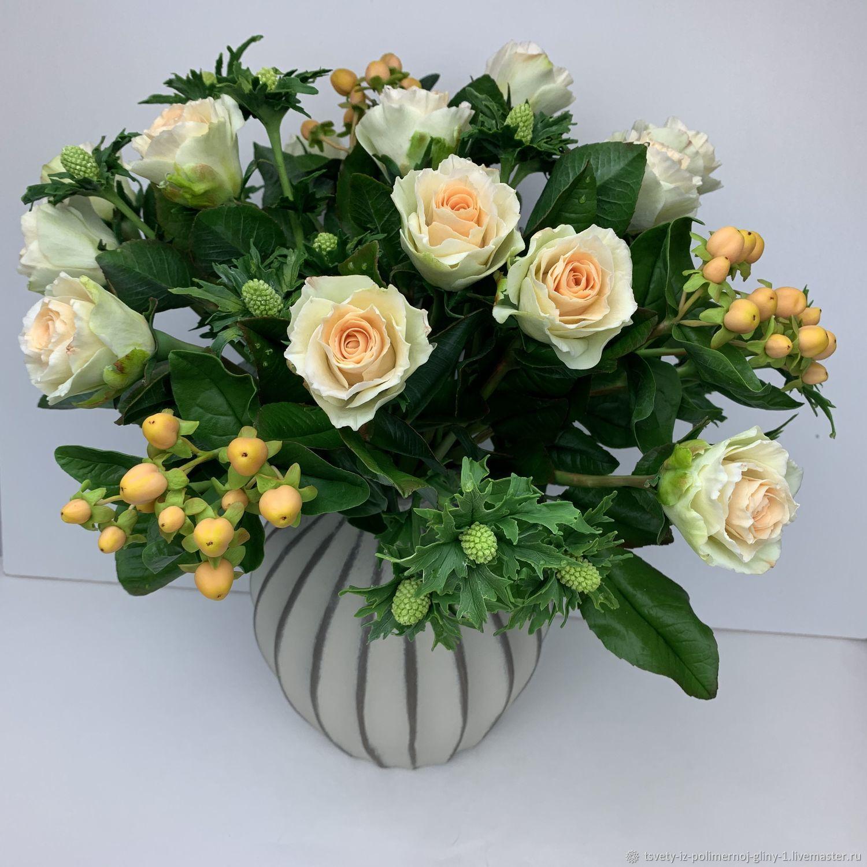 Букет роз из полимерной глины, Букеты, Москва,  Фото №1