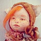 Куклы и пупсы ручной работы. Ярмарка Мастеров - ручная работа образы детства ЛИСИЧКА. Handmade.