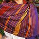 """Шарфы и шарфики ручной работы. Ярмарка Мастеров - ручная работа. Купить Шарф-палантин """"Thai Purple Dream"""". Handmade. Шарф"""