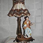 Винтаж ручной работы. Ярмарка Мастеров - ручная работа Винтажный ночник лампа. Handmade.