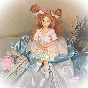 Будуарная кукла ручной работы. Ярмарка Мастеров - ручная работа Шарлотта. Текстильная кукла. Handmade.