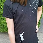 """Работы для детей, ручной работы. Ярмарка Мастеров - ручная работа """"Достань свою звезду"""" футболка. Handmade."""
