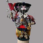 Куклы и игрушки ручной работы. Ярмарка Мастеров - ручная работа Кот в сапогах-3. Handmade.