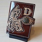 Сумки и аксессуары handmade. Livemaster - original item The driver`s wallet, Leather wallet, Purse, for Avtodokumentov. Handmade.