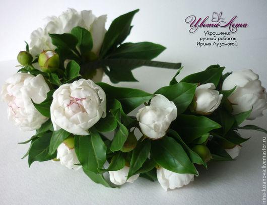 Цветы из полимерной глины (Ковров)