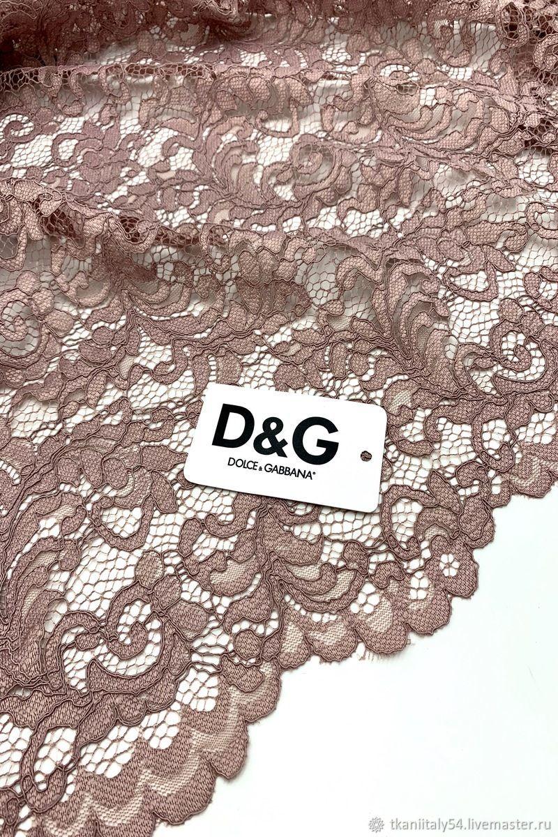 Кружево кордовое Dolce&Gabbana Артикул: SN1708005, Кружево, Новосибирск,  Фото №1