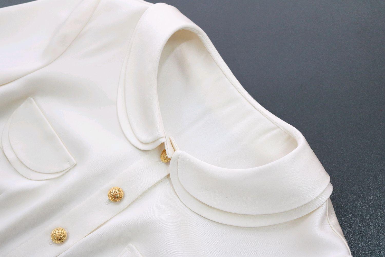 b00f6db0f90 Блузки ручной работы. Ярмарка Мастеров - ручная работа. Купить Белая шелковая  блузка.