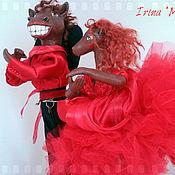 """Куклы и игрушки ручной работы. Ярмарка Мастеров - ручная работа """"Спектр фламенко"""". Handmade."""