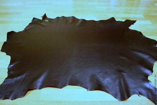 Шитье ручной работы. Ярмарка Мастеров - ручная работа. Купить Кожа натуральная одёжная. Чёрная. Пластины.. Handmade. Черный
