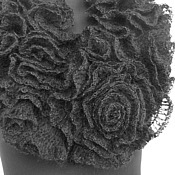 Scarves handmade. Livemaster - original item Scarf-collar