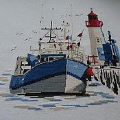 Картины и панно ручной работы. Ярмарка Мастеров - ручная работа «Море». Handmade.