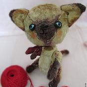 Куклы и игрушки ручной работы. Ярмарка Мастеров - ручная работа Котёнок Тедди по имени Мупс. Handmade.