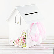 Свадебный салон handmade. Livemaster - original item House for cash gifts. Handmade.
