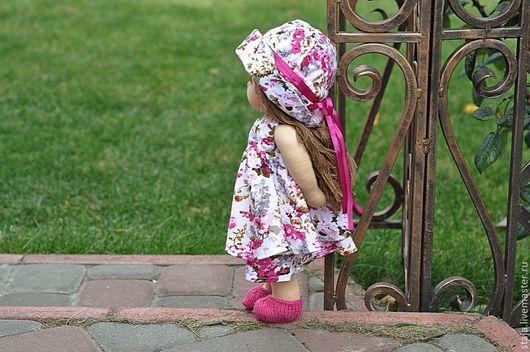 Вальдорфская игрушка ручной работы. Ярмарка Мастеров - ручная работа. Купить Красавишна. Handmade. Розовый, шерсть 100%