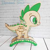 Для дома и интерьера manualidades. Livemaster - hecho a mano La métrica de juguete Dinozavrik. Handmade.