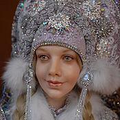 """Куклы и игрушки ручной работы. Ярмарка Мастеров - ручная работа кукла авторская """"Снегурочка"""". Handmade."""