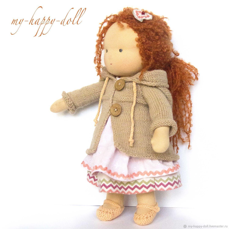 Рыженькая вальдорфская кукла, Вальдорфские куклы и звери, Москва,  Фото №1