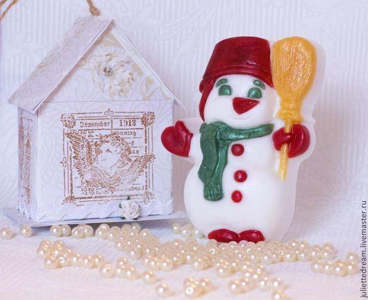 Мыло ручной работы  Декоративное мыло Косметика ручной работы Подарок на Новый год Мыло в подарок