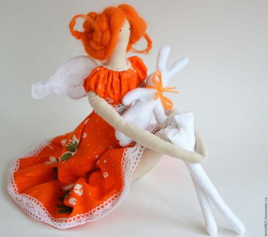 Куклы Тильды ручной работы. Ярмарка Мастеров - ручная работа. Купить Тильда для солнечной девочки. Handmade. Рыжий, тильда кукла