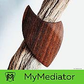Музыкальные инструменты handmade. Livemaster - original item The mediator of the walnut Wood Eclipse (brown). Handmade.