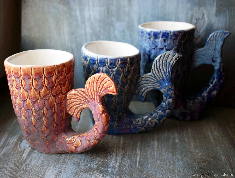 """Кружка """"Хвост русалки"""", Mugs and cups, Moscow,  Фото №1"""