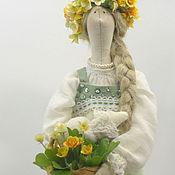 Куклы и игрушки ручной работы. Ярмарка Мастеров - ручная работа Текстильная кукла Настенька. Handmade.