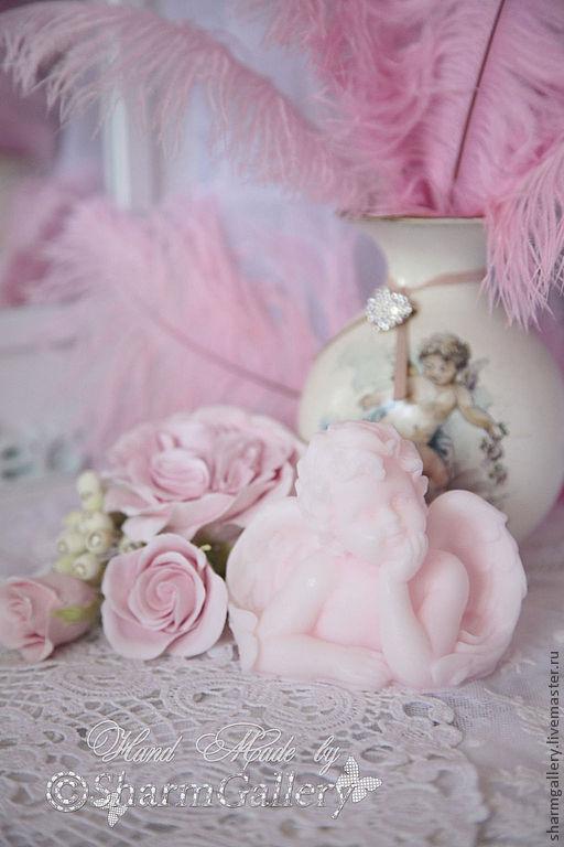 """Мыло ручной работы. Ярмарка Мастеров - ручная работа. Купить """"Angel Raphael"""". Мыло ручной работы. Handmade. ангелочек"""