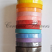 Материалы для творчества handmade. Livemaster - original item Tape tape color. Handmade.