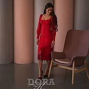 Платья ручной работы. Ярмарка Мастеров - ручная работа Платье DORA. Handmade.