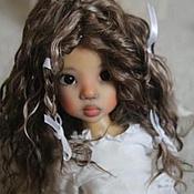 Материалы для творчества ручной работы. Ярмарка Мастеров - ручная работа Парик для куклы. Handmade.