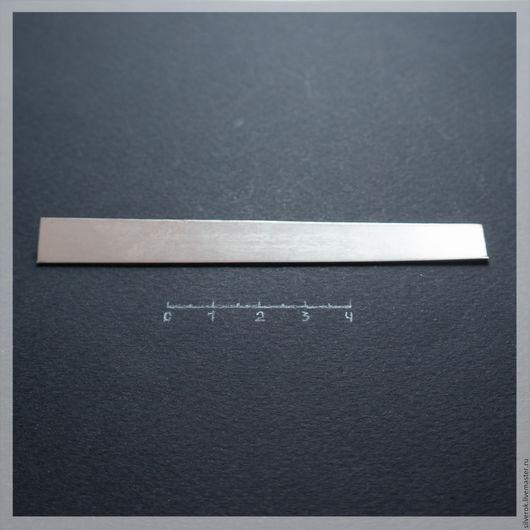 Другие виды рукоделия ручной работы. Ярмарка Мастеров - ручная работа. Купить Пластина 1 мм  серебро листовое 925 проба. Handmade.