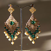 "Украшения handmade. Livemaster - original item Earrings ""Arabesque"".. Handmade."