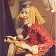Коллекционные куклы ручной работы. Кукла шута. Мастерская кукол  тел. 8 9036189838. Ярмарка Мастеров. Купить марионетку, текстиль