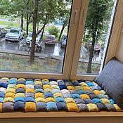 Для дома и интерьера handmade. Livemaster - original item Mattresses bombon on the window. Handmade.
