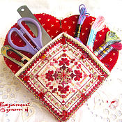 Для дома и интерьера handmade. Livemaster - original item Store things: Heart organizer. Handmade.