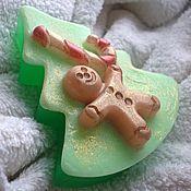 """Косметика ручной работы. Ярмарка Мастеров - ручная работа """"Рождественские истории"""", мыло ручной работы. Handmade."""