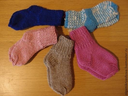 Носки, Чулки ручной работы. Ярмарка Мастеров - ручная работа. Купить Вязаные носки из наличия. Handmade. Носки, зима