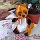 Мишки Тедди ручной работы. Ярмарка Мастеров - ручная работа. Купить Фокс. Handmade. Подарок, игрушка в подарок, синтепух