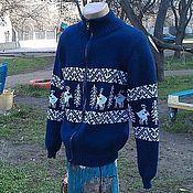 """Одежда ручной работы. Ярмарка Мастеров - ручная работа Кофта """"Олени (лесная любовь)"""". Handmade."""