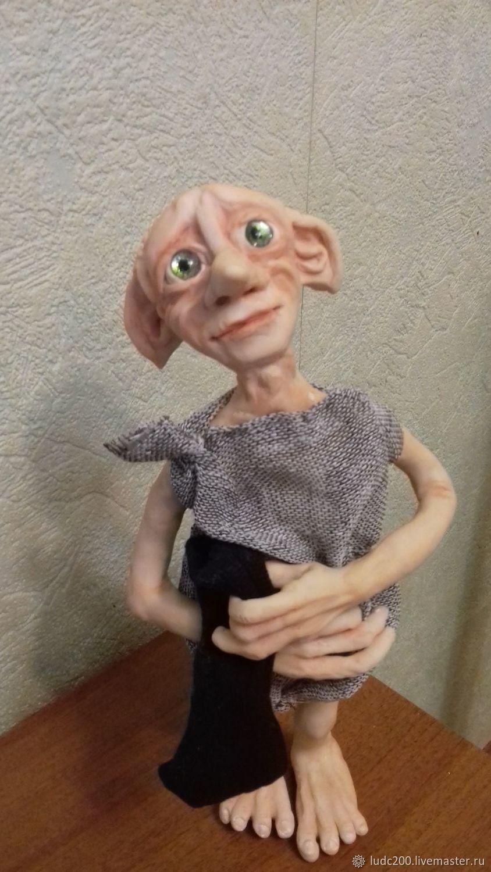 Домашний эльф Добби, Портретная кукла, Великий Новгород,  Фото №1