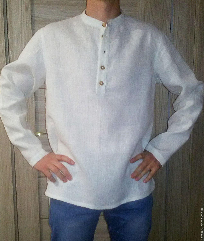 e7f5fb32a5a Мужская льняная рубашка