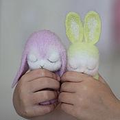 Куклы и игрушки ручной работы. Ярмарка Мастеров - ручная работа Лавандовый зайчик. Handmade.